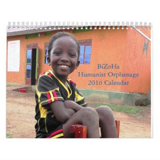 BiZoHa Humanist Orphanage 2016 Calendar