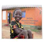 BiZoHa Humanist Orphanage 2016 Calendar (7 x 5.5)