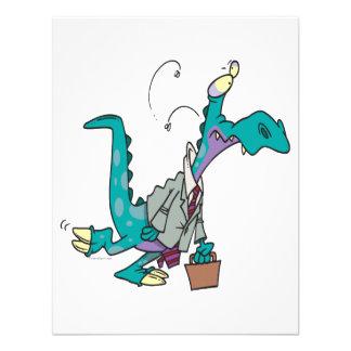 Bizosaur que va a trabajar el dinosaurio comunicados