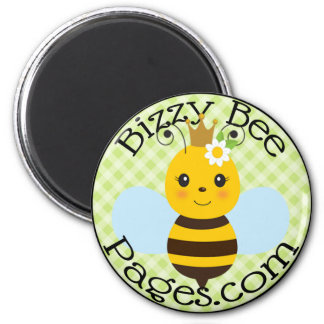 Bizzy Bee Pages Magnet