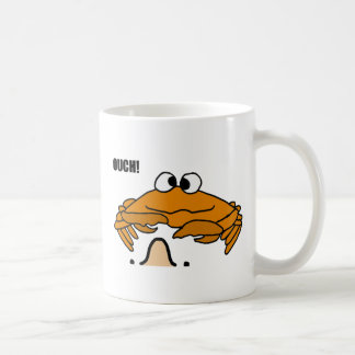 BJ- Crab Honking Nose Cartoon Coffee Mugs