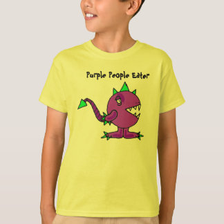 BJ- Funny Purple People Eater Monster Shirt