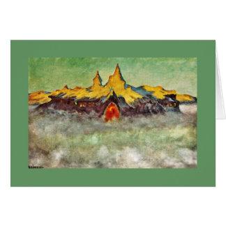 Bjerg - Troll Mountain Card