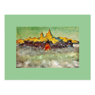 Bjerg - Troll Mountain Postcard