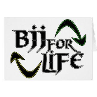 BJJ 4 Life Card