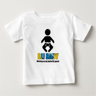 """BJJ Baby """"Working on my butterfly guard"""" T Baby T-Shirt"""