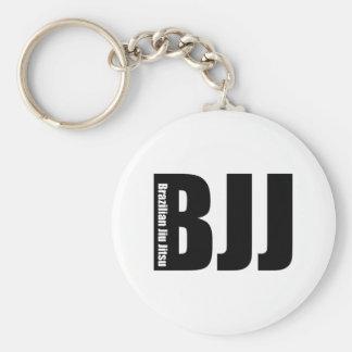 BJJ - Brasilen@o Jiu Jitsu Llavero Redondo Tipo Pin