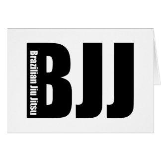 BJJ - Brazilian Jiu Jitsu Card