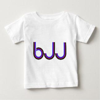 BJJ - Brazilian Jiu Jitsu - Colored Letters Baby T-Shirt