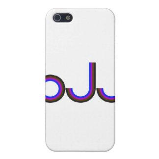 BJJ - Brazilian Jiu Jitsu - Colored Letters Case For iPhone 5