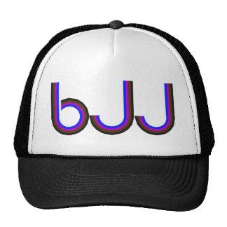 BJJ - Brazilian Jiu Jitsu - Colored Letters Trucker Hat