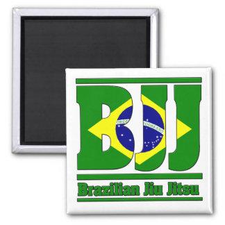 BJJ Brazilian Jiu Jitsu Flag MMA Fridge Magnets