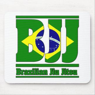BJJ Brazilian Jiu Jitsu Flag MMA Mouse Mats