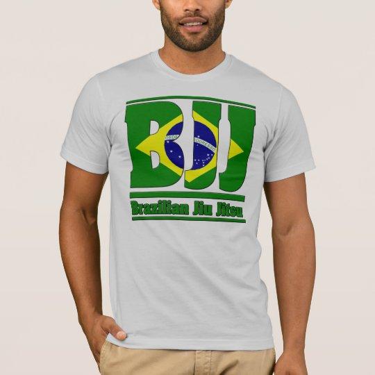 BJJ Brazilian Jiu Jitsu Flag MMA T-Shirt