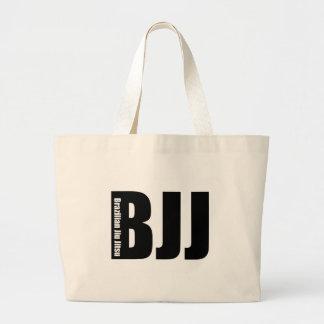 BJJ - Brazilian Jiu Jitsu Large Tote Bag