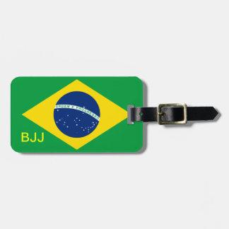 BJJ, Brazilian Jiu-Jitsu Luggage Tag