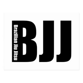 BJJ - Brazilian Jiu Jitsu Post Card