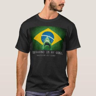 BJJ Brazilian Jiu Jitsu the Ground is my Ocean T T-Shirt