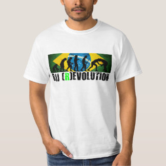 BJJ Evolution Chart (Grapplers) RevolutionT-shirt T-Shirt