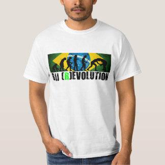 BJJ Evolution Chart (Grapplers) RevolutionT-shirt Tee Shirt