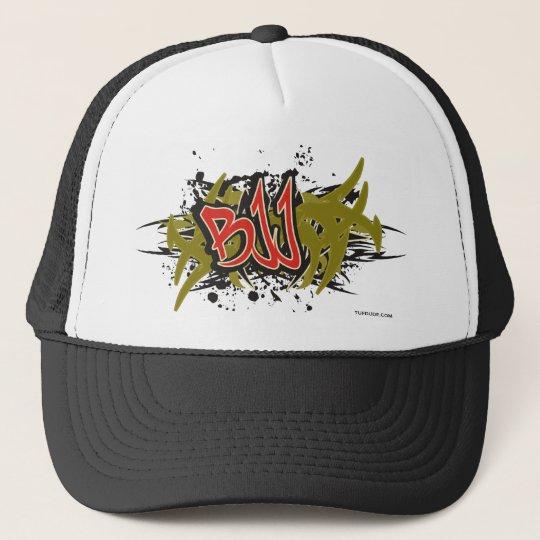 BJJ - Graffiti Trucker Hat