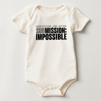 BJJ: SubMission Impossible Baby Bodysuit