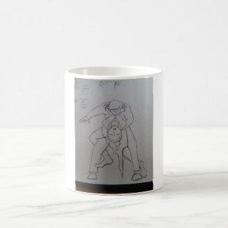 BJJ tango choke technical design Coffee Mug