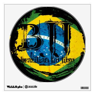 BJJ Vortex - Brazilian Jiu Jitsu Wall Decal