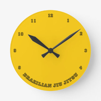 BJJ Wall Clock
