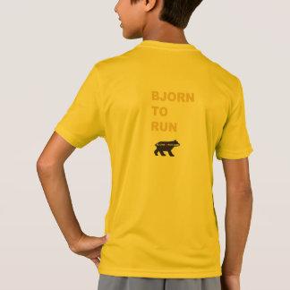 Bjorn para funcionar con a niños de la camisa de
