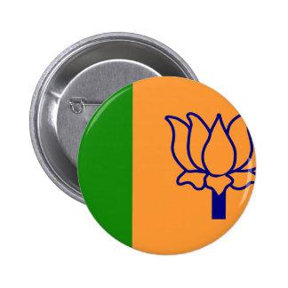 Bjp, India flag Button