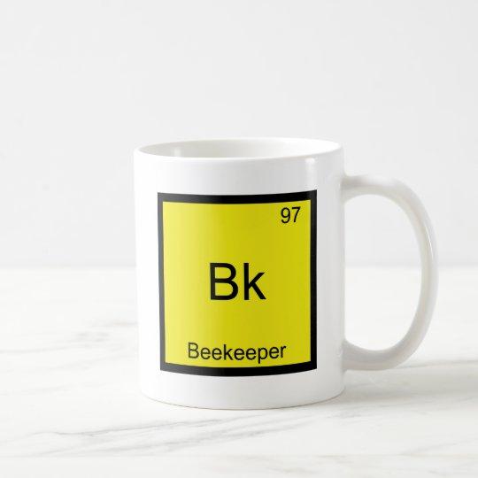 Bk - Beekeeper Funny Chemistry Element Symbol Tee Coffee Mug