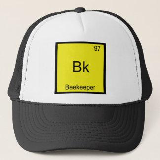 Bk - Beekeeper Funny Chemistry Element Symbol Tee Trucker Hat