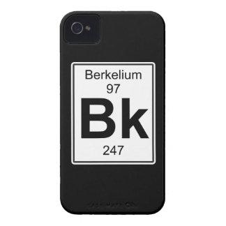 Bk - berkelio funda para iPhone 4 de Case-Mate