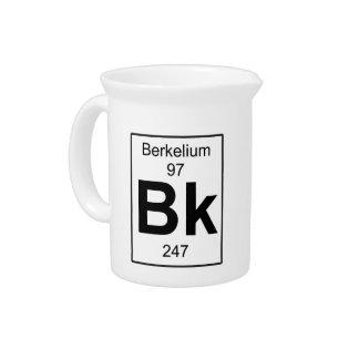 Bk - berkelio jarra para bebida