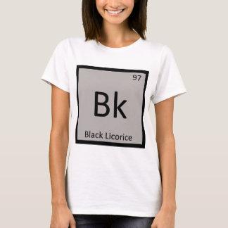 Bk - Black Licorice Chemistry Periodic Table T-Shirt