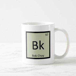 Bk - Bok Choy Vegetable Chemistry Periodic Table Coffee Mug
