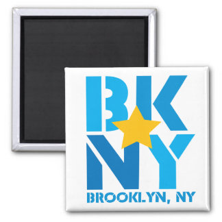 BK Brooklyn Blue Magnet