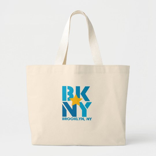 BK Brooklyn Blue Tote Bag