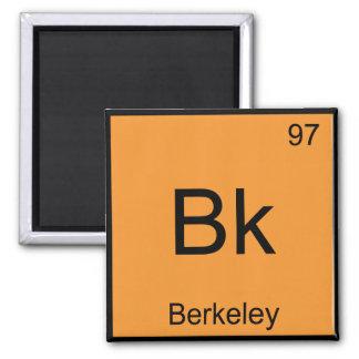 Bk - símbolo California del elemento de la química Iman Para Frigorífico