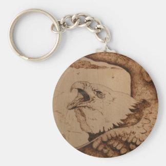 bk wb (1).PNG Eagle Wood Burning Keychain