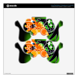 BKB PS3 Wireless Controller Skin Skin For PS3 Controller