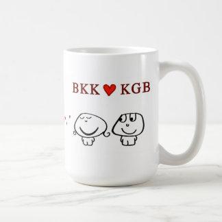 BKK heart KGBB Mugs