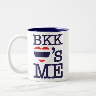 BKK LOVE'S ME Two-Tone COFFEE MUG