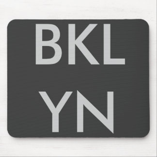 BKLYN Mousepad Black/Greysilver