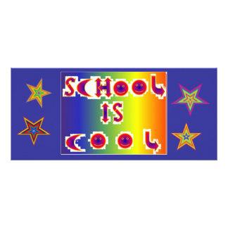 BKMK1.6 SCHOOL IS COOL.STARS RACK CARD