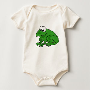 BL- Funky Frog Baby Outfit shirt