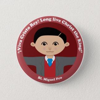 Bl. Miguel Pro Button