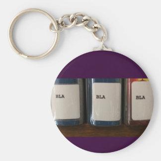 """""""Bla, Bla, Bla"""" - Library Call Numbers Keychain"""