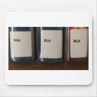 """""""Bla, Bla, Bla"""" - Library Call Numbers Mouse Pads"""